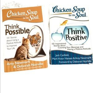 TWO Motivational Chicken Soup for the Soul Books
